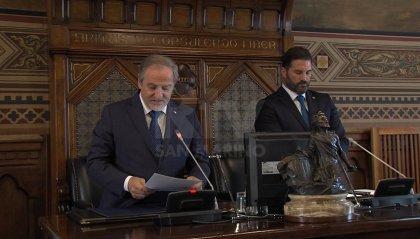 Saluto di fine semestre degli Ecc.mi Capitani Reggenti Gian Carlo Venturini e Marco Nicolini