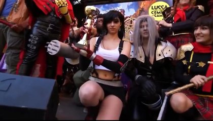 """Lucca: il cosplay, tra """"gaming"""" e steampunk"""