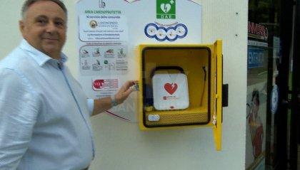 Installato un nuovo defibrillatore ad uso pubblico