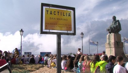 Visita a Tactilia per i ragazzi delle scuole, prossimo obiettivo riprodurre la vecchia Pieve