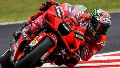 MotoGP: Bagnaia vince il GP di San Marino, primo podio per Bastianini