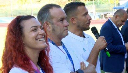 Sportinfiera con Alessandra Perilli, Gian Marco Berti e Paolo Persoglia