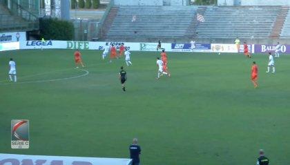 Pistoiese–Reggiana 0-2. Un gol per tempo e vittoria in trasferta per i granata