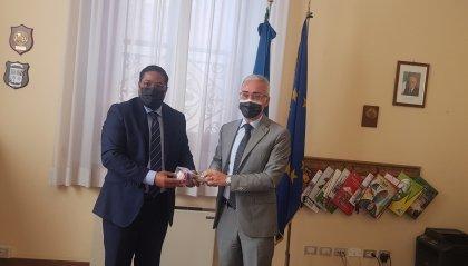 Il console generale della Repubblica Dominicana a Genova incontra il Prefetto