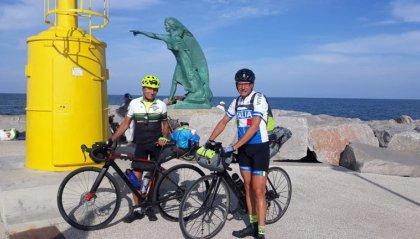 Dall'Adriatico all'Atlantico in bicicletta: l'impresa di Marino Gasperoni
