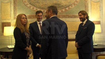 Onorificenza per il parlamentare Haris Theoharis: aveva firmato il protocollo d'intesa San Marino-Grecia