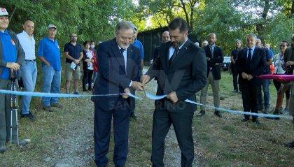 """La Reggenza all'inaugurazione del sentiero """"La Genga"""": tracciato che completa la rete sentieristica attorno al monte Titano"""