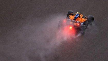 GP Russia: Lando Norris in pole davanti a Carlos Sainz
