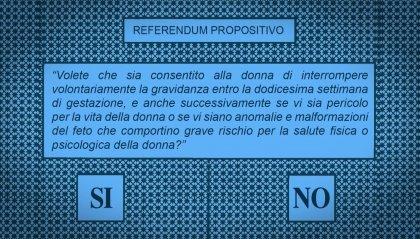 E' il giorno del referendum sull'interruzione volontaria di gravidanza: seggi aperti dalle 7 alle 20