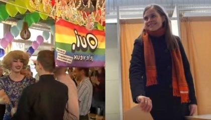 La Svizzera dice sì alle nozze gay, in Islanda storico parlamento 'rosa'