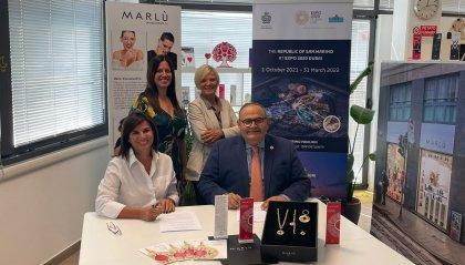 Marlú é Sponsor Ufficiale del Padiglione San Marino a Expo Dubai 2020