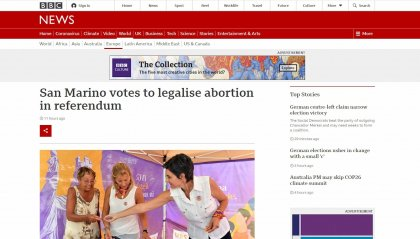 Referendum IVG: i riflettori dei media internazionali su San Marino