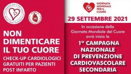 Italia: 'Non dimenticare il Tuo cuore', check up cardiologici gratuiti per pazienti post infarto
