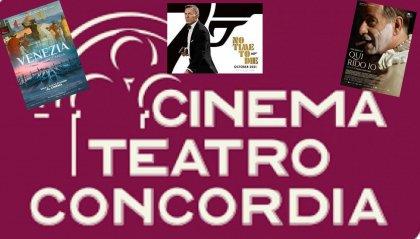 Al Cinema Concordia 007 e Tony Servillo