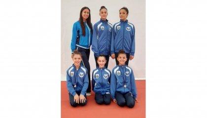 Buona terza prova regionale per le atlete della Società Sportiva Ginnastica San Marino