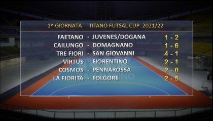 Titano Futsal Cup: i risultati