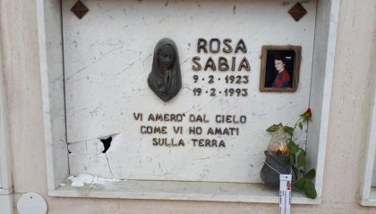 Cerasolo: alcune tombe danneggiate da ignoti, indaga la Polizia Locale