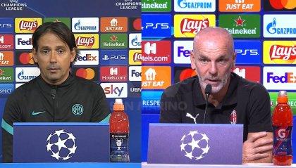 """Inzaghi: """"L'Inter non sbaglierà"""".  Pioli: """"Porto avversario di grande livello"""""""