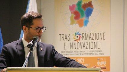 Il Segretario di Stato per l'Industria Fabio Righi è intervenuto questa mattina al Congresso FLIA-CDLS
