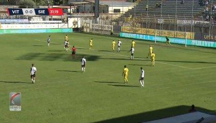 La Viterbese sorprende il Siena e vince 2-0