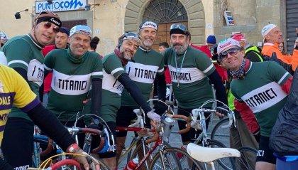 "Da San Marino ad Anghiari: una pedalata ""Intrepida"" per i Titanici"