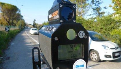 Forlì: in auto a 150 all'ora sulla tangenziale, multa e ritiro della patente