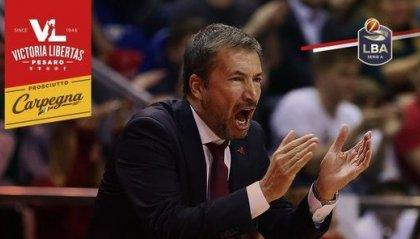 VL Pesaro, Luca Banchi è il nuovo coach