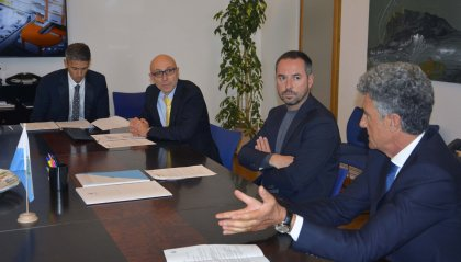 Presentato l'avanzamento del progetto di posa della fibra ottica  per rete a banda larga FTTH