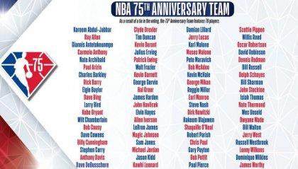 La NBA compie settantacinque anni