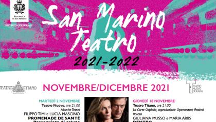 San Marino Teatro, una stagione di grandi appuntamenti