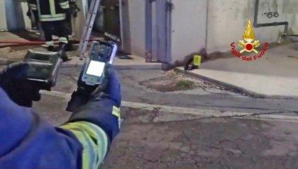 Rimini: incendio in una concimaia, domato dai Vigili del Fuoco