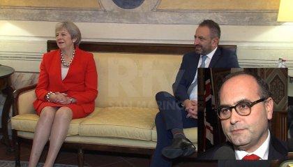 """San Marino e Regno Unito sempre più vicini, Bragagni: """"Amicizia basata su condivisione di valori"""""""