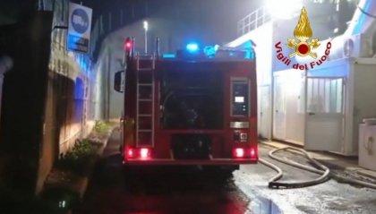 In fiamme una concimaia a Rimini