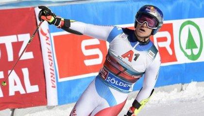 Soelden, Slalom Gigante: Odermatt rimonta e vince, De Aliprandini 8°