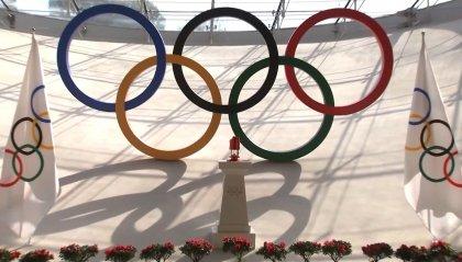 La fiamma olimpica arrivata a Pechino e custodita nella Torre Olimpica