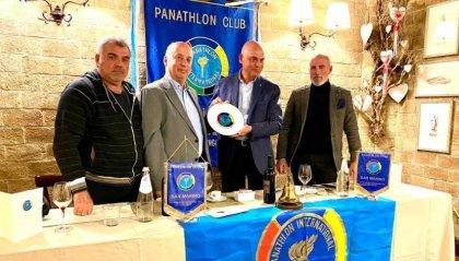 I campioni del San Marino Baseball ospiti del Panathlon
