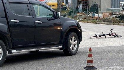Valmarecchia: scontro auto-bici, 60enne in prognosi riservata [fotogallery]