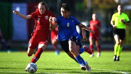 U19 femminile: 90 minuti per Chiara Beccari nella sfida contro la Norvegia