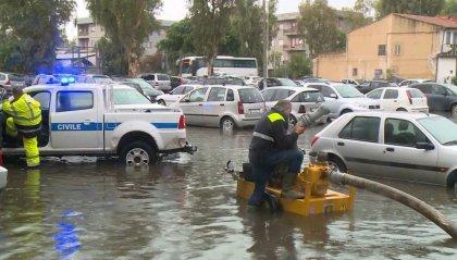 Catania sott'acqua, timori per il ciclone Mediterraneo