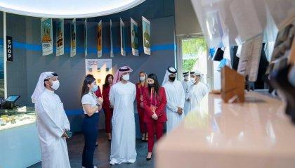 Expo 2020 Dubai: al Padiglione di San Marino la prima visita di uno Sceicco