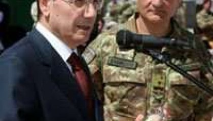 Afghanistan, Schifani in visita ai militari italiani