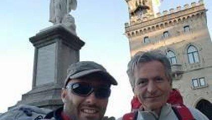 Il Viaggio della Misericordia: dal Titano, a piedi dal Papa