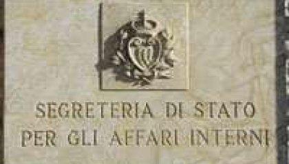Il Segretario per gli Affari Interni invita a recarsi alle urne