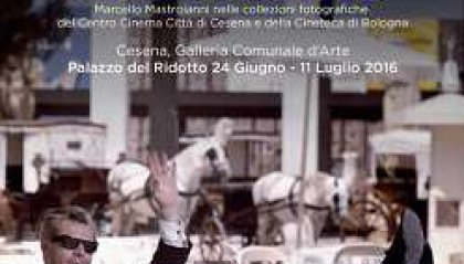 """Mostre: """"Ciao Marcello!"""", Cesena omaggia il grande Mastroianni"""