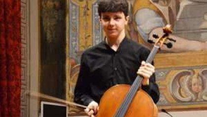 Francesco Stefanelli allo Eurovision Young Musicians