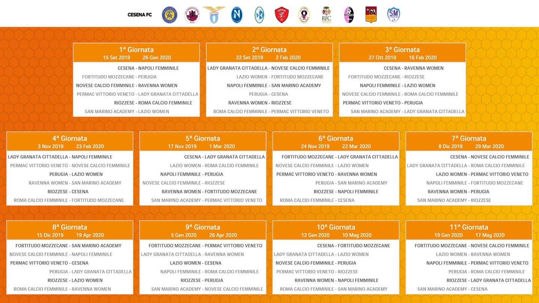 Calendario Mirabilandia 2020.Femminile Per La San Marino Academy Debutto Contro La Lazio