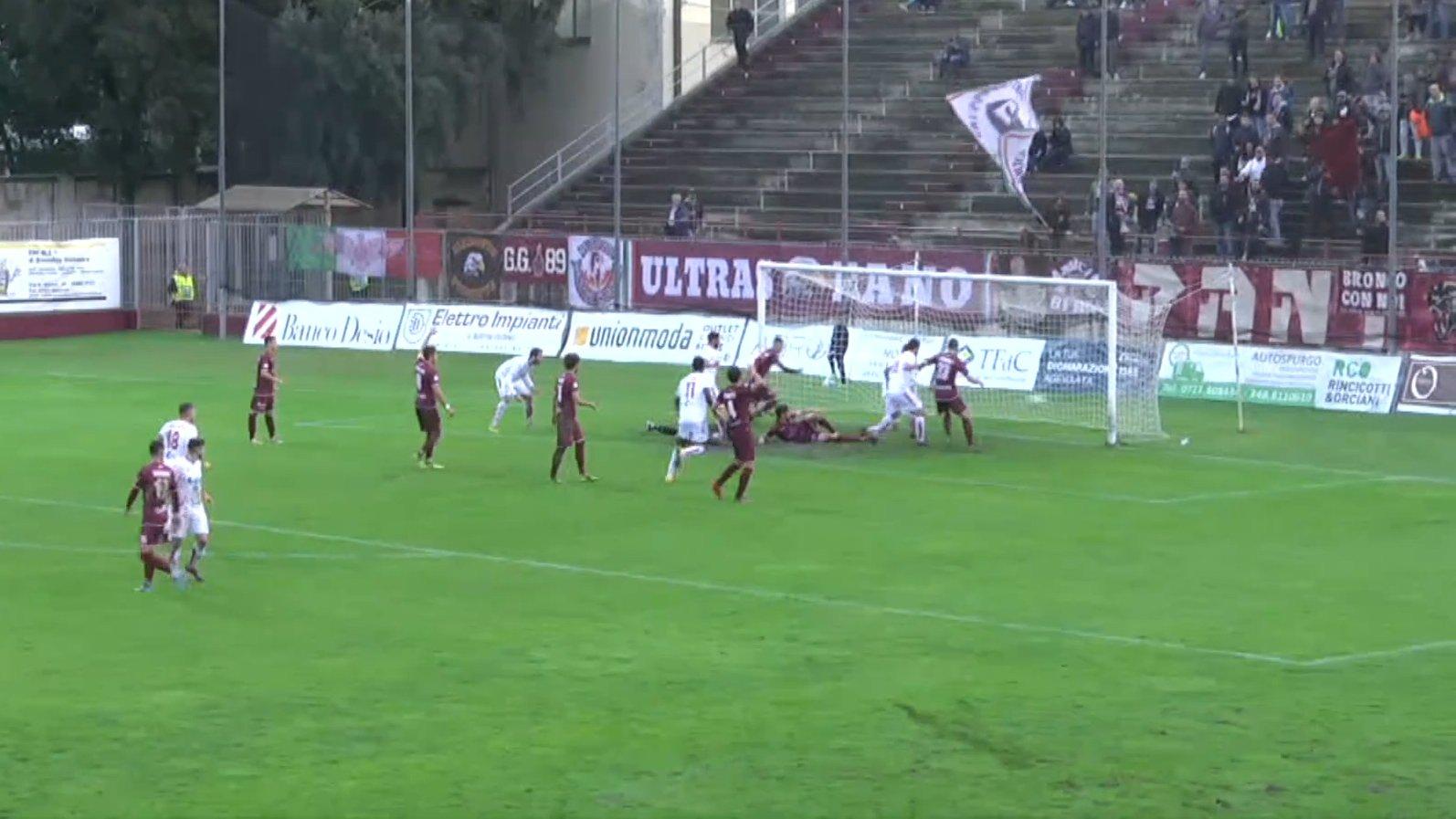 Fano - Piacenza 2-4 - San Marino Rtv